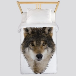 Wolf Personalized Twin Duvet Cover