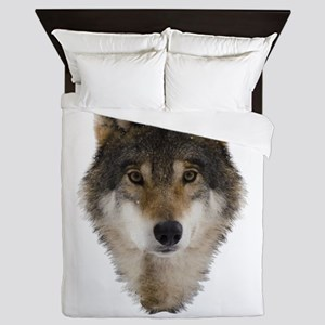 Wolf Personalized Queen Duvet