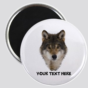 Wolf Personalized Magnet