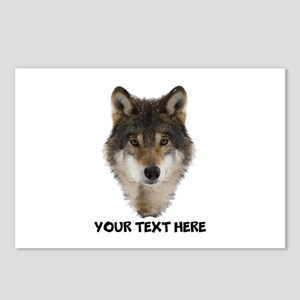 Wolf Personalized Postcards (Package of 8)
