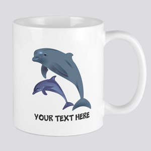 Dolphins Personalized 11 oz Ceramic Mug
