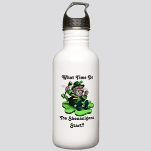 What Time Do The Shenanigans Start? Water Bottle