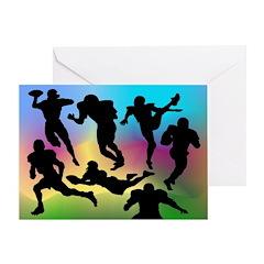 Football Players - Birthday Card