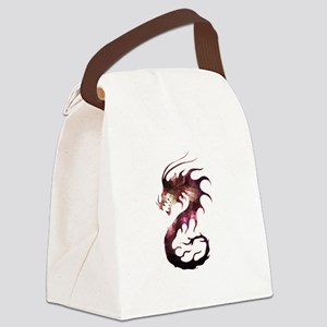 Crystal dragon Canvas Lunch Bag