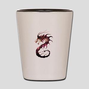 Crystal dragon Shot Glass