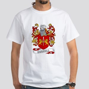 Carroll Coat of Arms White T-Shirt