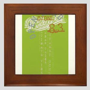 oz 83 green Framed Tile