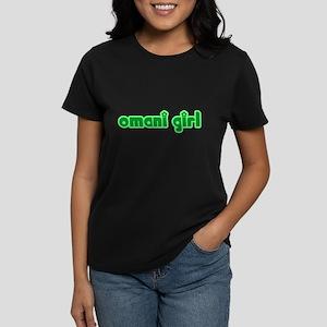 Omani Girl Cute Oman Women's Dark T-Shirt