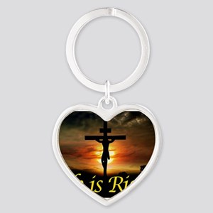 JESUS RISEN Keychains