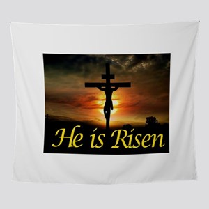 JESUS RISEN Wall Tapestry