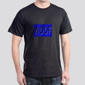 WOOF-BLACK/BLUE Dark T-Shirt