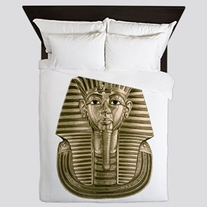 Golden King Tut Queen Duvet
