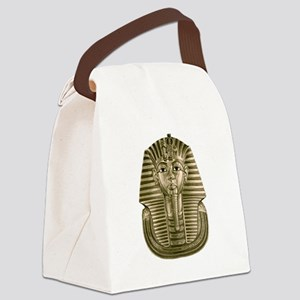 Golden King Tut Canvas Lunch Bag