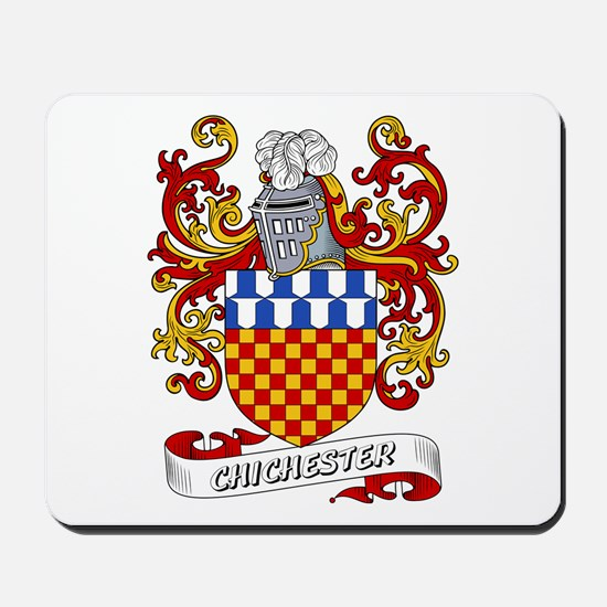 Chichester Coat of Arms Mousepad