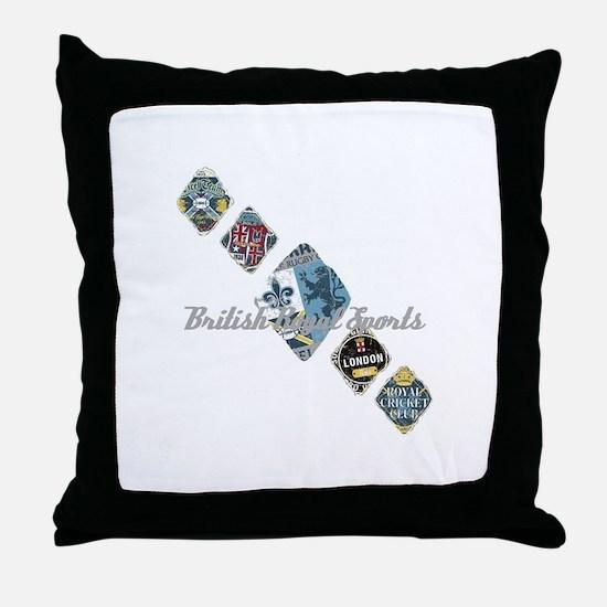 Royal sport Throw Pillow