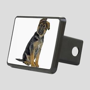 German Shepherd Puppy Rectangular Hitch Cover