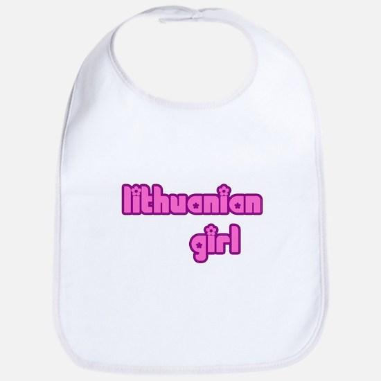 Lithuanian Girl Cute Bib