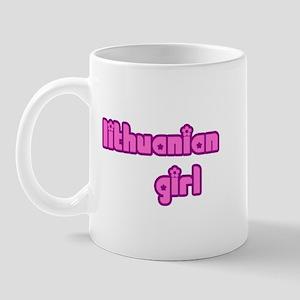 Lithuanian Girl Cute Mug