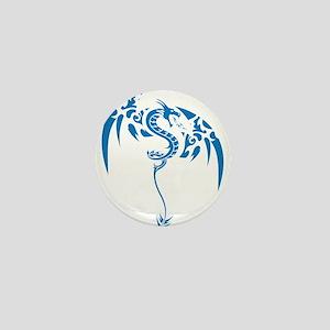 Tribal dragon Mini Button