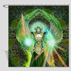 Angel Raphael Shower Curtain