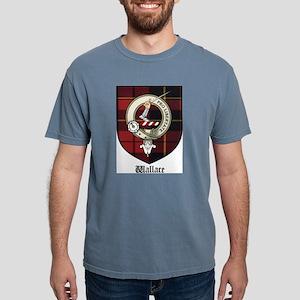 Wallace Clan Crest Tartan White T-Shirt