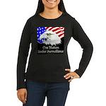 New Pledge Women's Long Sleeve Dark T-Shirt
