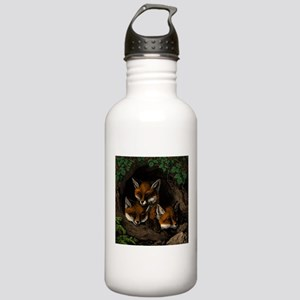 Baby Foxes Water Bottle