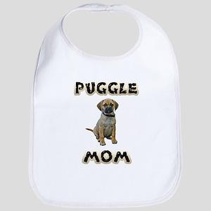 Puggle Mom Baby Bib