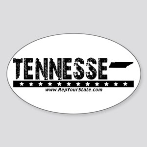 Tennesse Oval Sticker