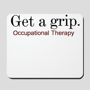 Get a grip. Mousepad