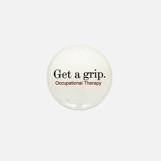 Get a grip. Mini Button