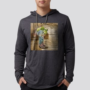 flower western country cowboy Long Sleeve T-Shirt