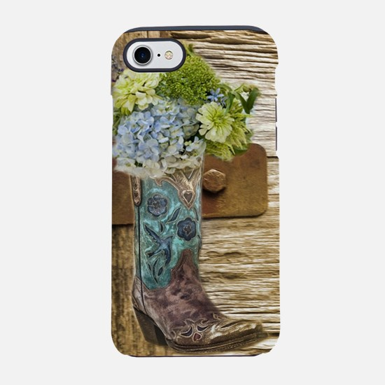 flower western country cowbo iPhone 8/7 Tough Case