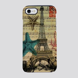 starfish paris eiffel tower iPhone 8/7 Tough Case