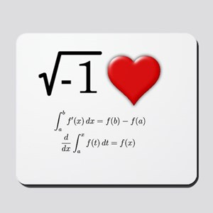 I Love Calculus Mousepad