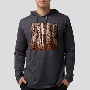 fall landscape birch tree Long Sleeve T-Shirt
