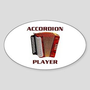 ACCORDION Oval Sticker