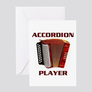 ACCORDION Greeting Card