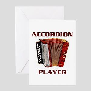 Polka Music Greeting Cards