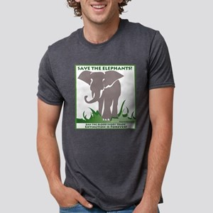 Save the Elephants - Stop the Blood Ivory Trade T-