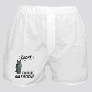 Irritable Owl Syndrome Boxer Shorts