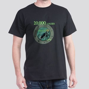 20,000 Leagues Under the Sea White T-Shirt