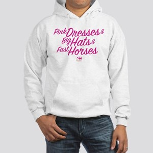 Oaks 144 Pink Dresses Hooded Sweatshirt