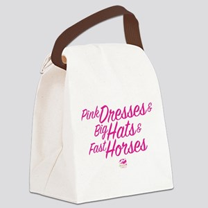 Oaks 144 Pink Dresses Canvas Lunch Bag