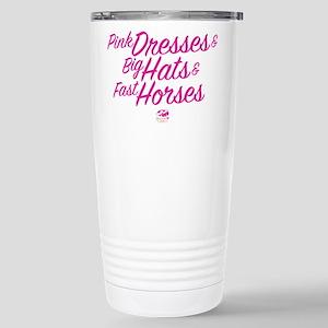 Oaks 144 Pink Dre 16 oz Stainless Steel Travel Mug