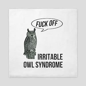 Irritable Owl Syndrome Queen Duvet