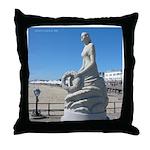 NH Marine Memorial, Hampton Beach NH Throw Pillow