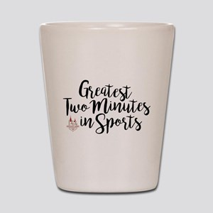 The Greatest Two Minutes Derby 144 Shot Glass