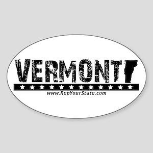 Vermont Oval Sticker