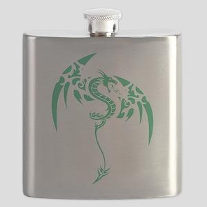 Tribal dragon Flask